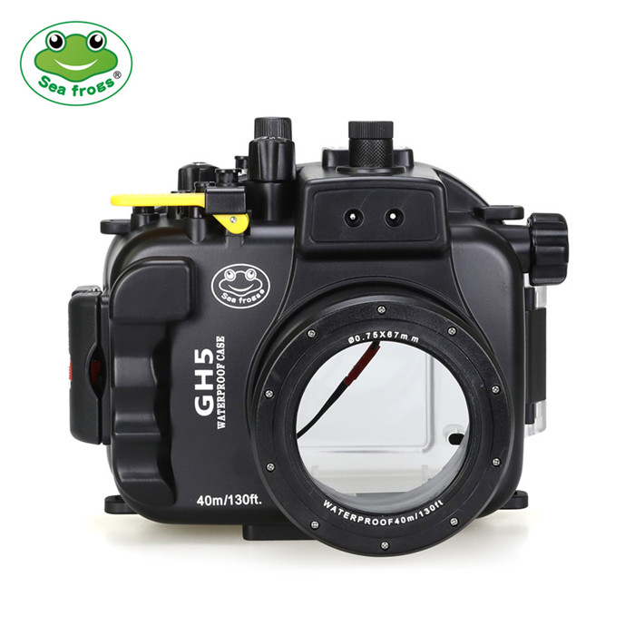 Panasonic Lumix GH5 & GH5 S 40m/130ft Underwater Camera Housing with Standard port