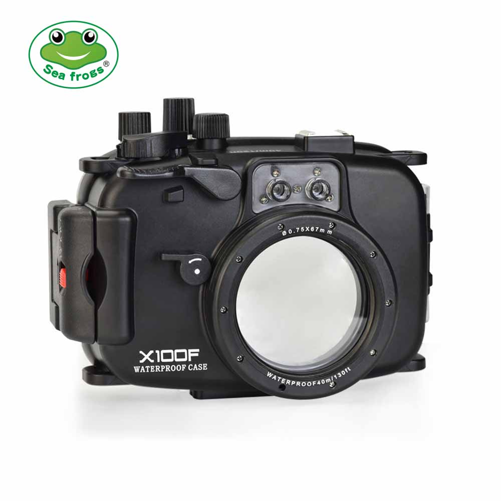 SeaFrogs 40m/130ft Underwater Camera Housing for Fujifilm X100F