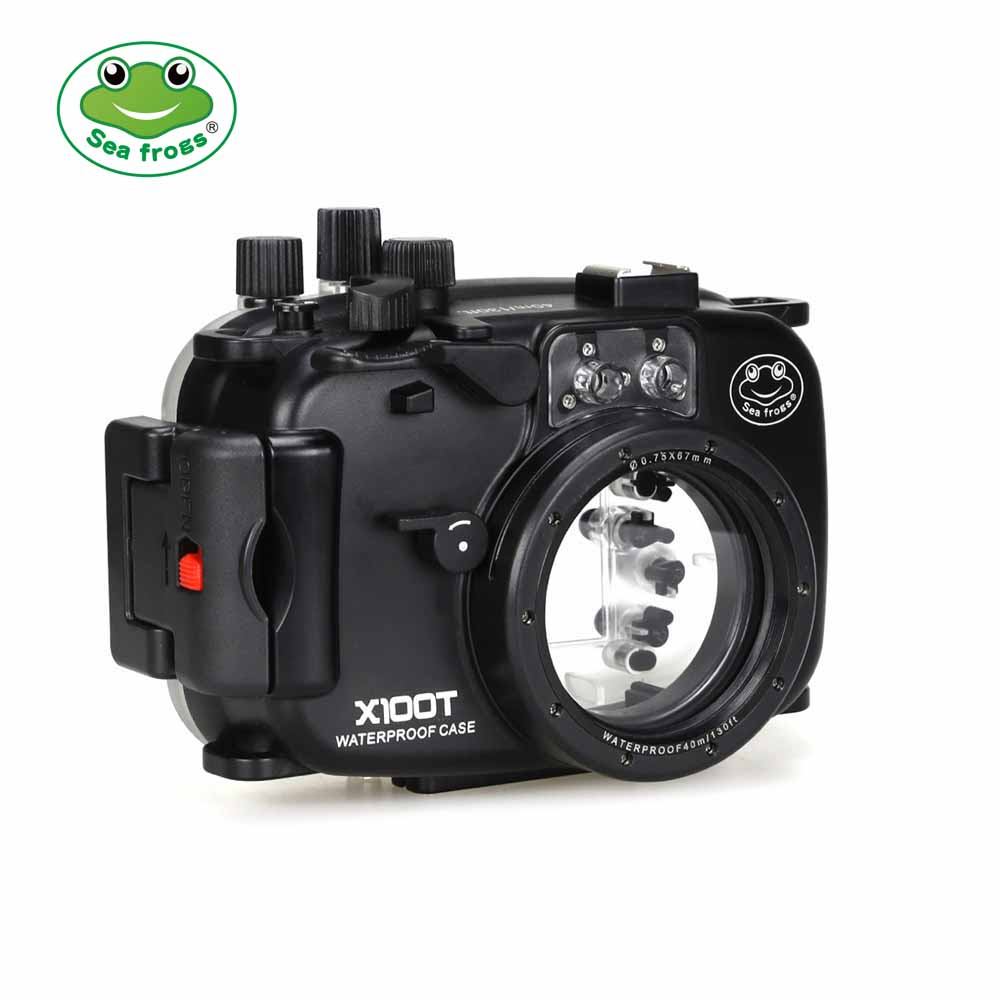 SeaFrogs 40m/130ft Underwater Camera Housing for Fujifilm X100T