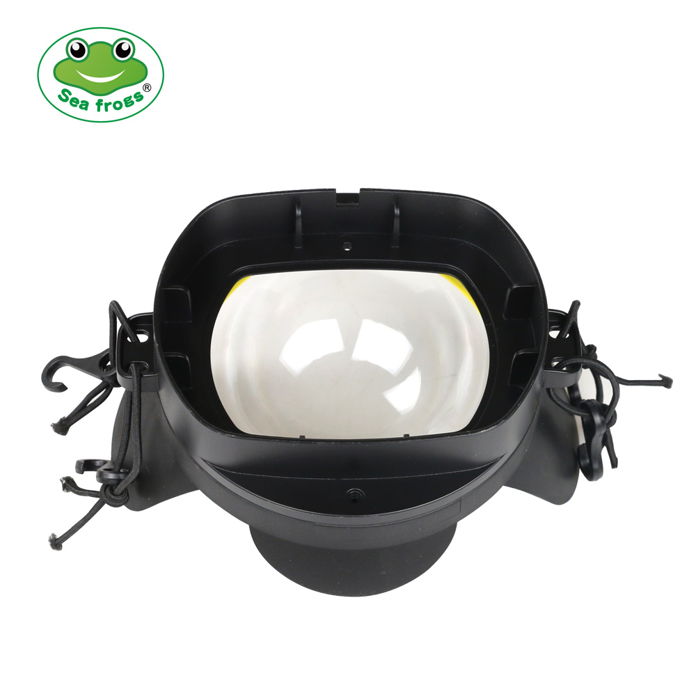 FE-2 40M/130FT fish eyes lens port for underwater camera case (square interface)