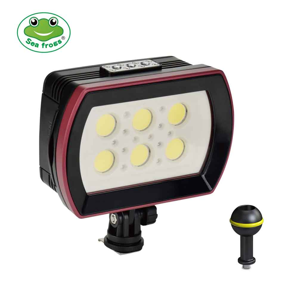 Seafrogs SL-22 Model 6000LM 40m/130ft Video Light For Professional Diving