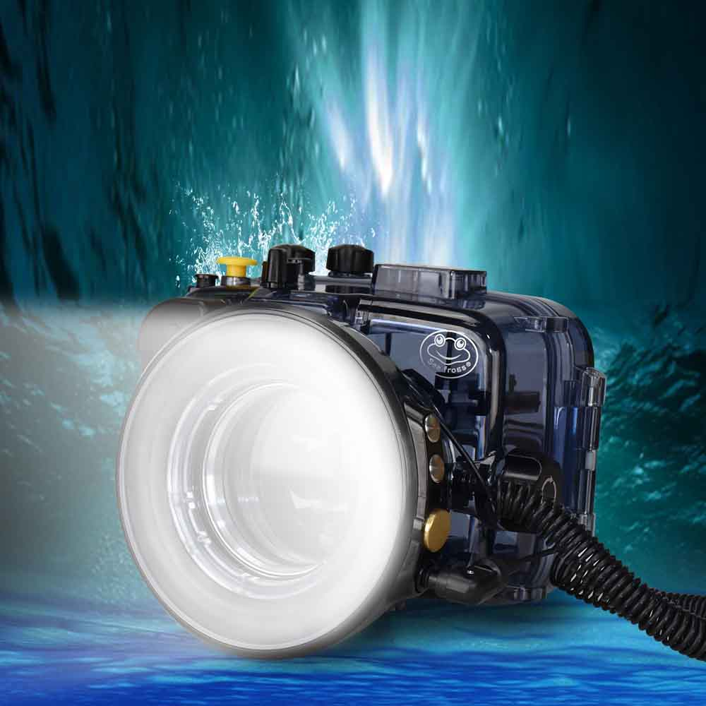 Seafrogs SL-108 Model 1200LM 40m/130ft Ring Light For Macro Photography