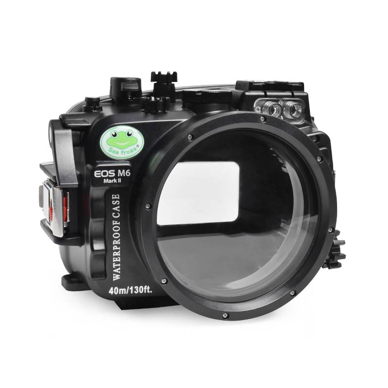 40M/130FT camera waterproof case for Canon EOS-M6 II